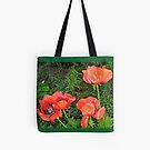 Red Poppies Tote by Shulie1
