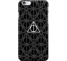 Deathly Hallows Pattern Harry Potter iPhone Case/Skin