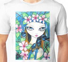Blue Fairy Wren by Sheridon Rayment Unisex T-Shirt