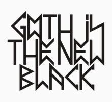 Gothic is the new black No.2 (black) Kids Clothes