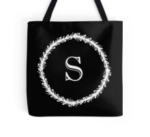 Monochrome Monogram S Tote Bag