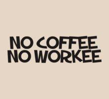 No coffee no workee by digerati