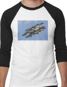 Hawker Nimrods Run in and Break Men's Baseball ¾ T-Shirt