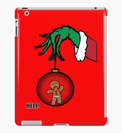 Merry Christmas - Zenzy&Grinch iPad Case/Skin