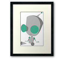 Invader Zim Gir Framed Print
