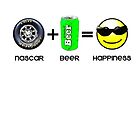 Nascar+Beer=Happiness by artguy24