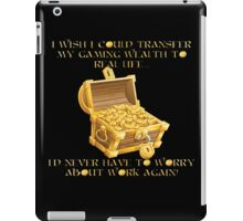 Gaming Wealth iPad Case/Skin