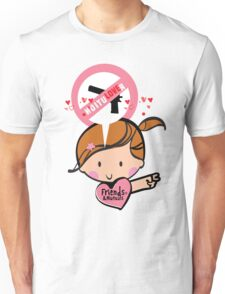 Love Revolution: No Guns Unisex T-Shirt