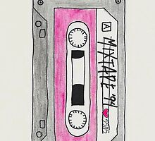 Vertical red mix tape by o-my-morgan