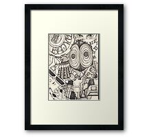 The World of the Doctor Framed Print