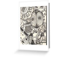 The World of the Doctor Greeting Card