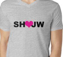 SH ♡ JW Mens V-Neck T-Shirt