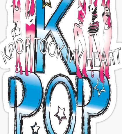 K-POP took my heart Sticker