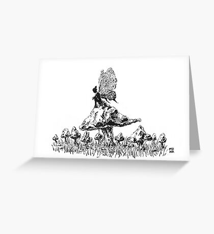 Fairy Ink Greeting Card