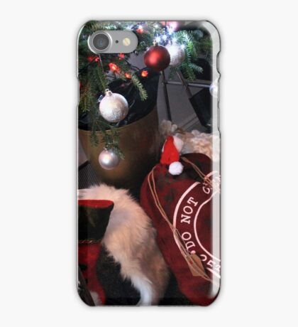 Christmas - Brock`s Stocking ! iPhone Case/Skin