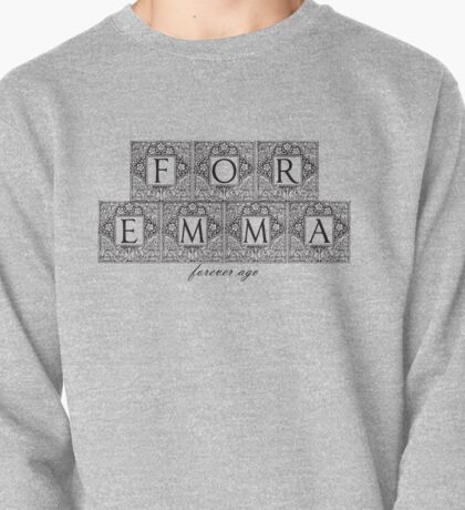 For Emma, forever ago - Bon Iver Pullover