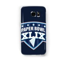 Paper Bowl Sunday Samsung Galaxy Case/Skin
