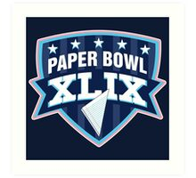 Paper Bowl Sunday Art Print
