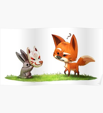 Sly Rabbit Poster