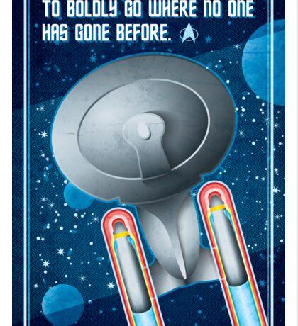 Star Trek - To Boldly Go Sticker
