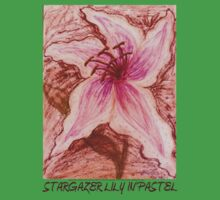 Stargazer Lily in Pastel shirt Baby Tee
