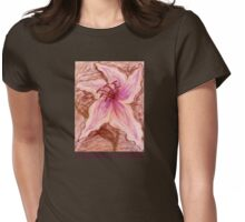 Stargazer Lily in Pastel shirt Womens Fitted T-Shirt