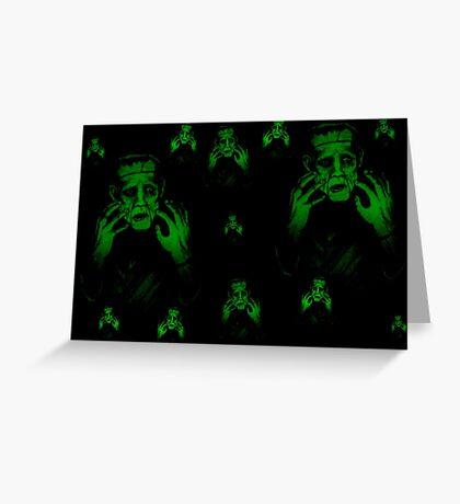Halloween monster mash Greeting Card