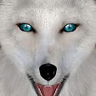 Arctic Fox by Vac1