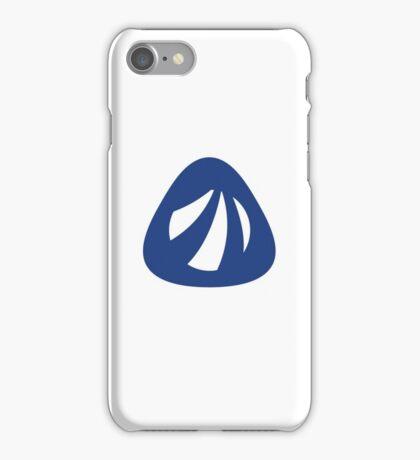 Antergos Linux Logo iPhone Case/Skin