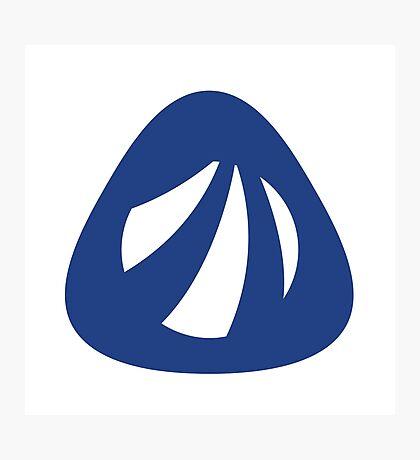 Antergos Linux Logo Photographic Print