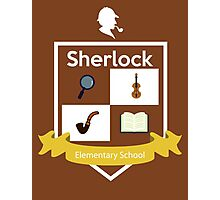 Sherlock school Photographic Print