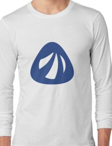 Antergos Linux Logo Long Sleeve T-Shirt