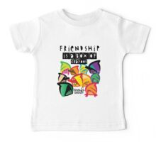 Friendship Is A Box of Crayons Baby Tee
