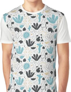 Nordic forest in winter Graphic T-Shirt