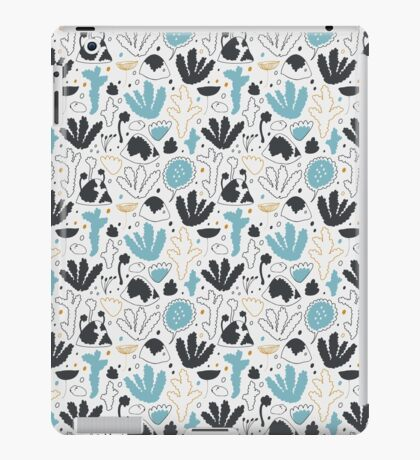 Nordic forest in winter iPad Case/Skin