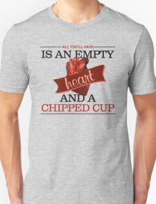 Empty Heart Unisex T-Shirt