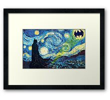 The Starry Knight Framed Print