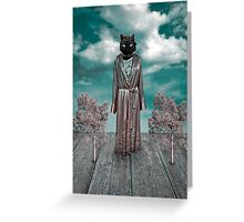 Surreal Scene Greeting Card