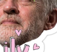 Corbyn Flower Crown Sticker