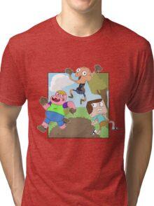 Mud Fight!  Tri-blend T-Shirt