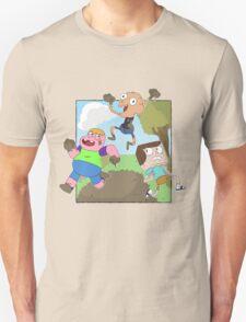 Mud Fight!  T-Shirt