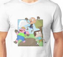 Mud Fight!  Unisex T-Shirt