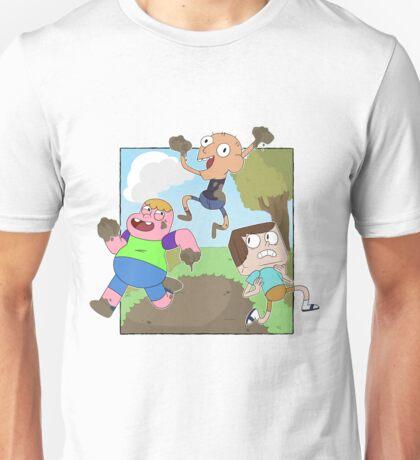 Mud Fight!  Unisex T-Shirt