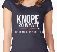 Knope 2020 Women's Fitted Scoop T-Shirt