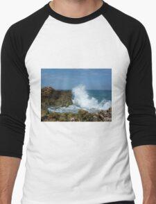 Ocean Rock Splash Men's Baseball ¾ T-Shirt
