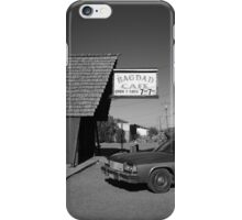 Route 66 - Bagdad Cafe iPhone Case/Skin