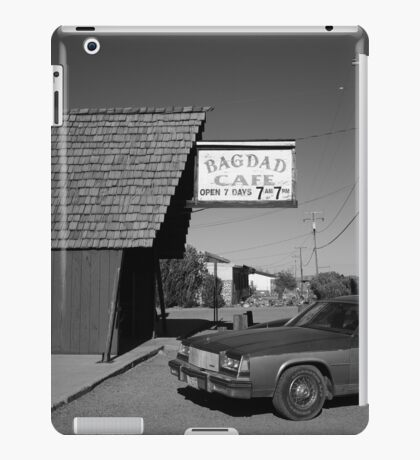 Route 66 - Bagdad Cafe iPad Case/Skin