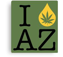 I Dab AZ (Arizona) Canvas Print