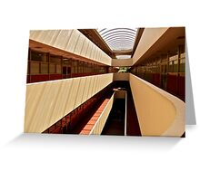 Marin County Civic Center, Frank Lloyd Wright Architect Greeting Card