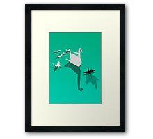 Misfit Framed Print